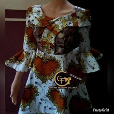 Image may contain: people standing African Maxi Dresses, African Fashion Ankara, African Dresses For Women, African Print Fashion, African Attire, African Women, Viking Dress, Baby Frocks Designs, Fashion Gallery
