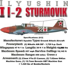 WARBIRDSHIRTS.COM presents Russia Warbirds, available on Polos, Caps, T-shirts, Sweatshirts and more. featuring here in our Russian collection the I I-2 Sturmovik