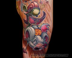 069c6d20e #tattoo by Jesse Smith Will Smith, Tatuagem New School, Awesome Tattoos,  Cool