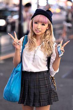 Harajuku School Uniform by tokyofashion, via Flickr