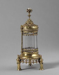 Reliquary  Date: ca. 1500 Culture: Hungarian Medium: Silver gilt, rock crystal, and pearl