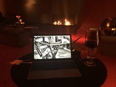 #work #hotel #macbook
