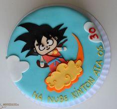 Las más lindas tortas de Dragon Ball Dragonball Z Cake, Dragon Ball Z Shirt, Happy Birthday My Love, Cakes For Boys, 1st Birthdays, Fancy Cakes, Cakes And More, Party Time, Cake Decorating
