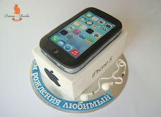 iphone cake ideas, iPhone birthday cake