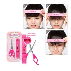 ETUDE, Hot Style Hair Tools Bangs Cut Kit by ETUDE HOUSE | KollectionK.com