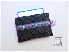 Taschenspiegel-Hülle ♥ Spiegelhülle aus Wollfilz - Mehr dazu im Purzelbine Dawanda-Shop oder unter www.purzelbine.de