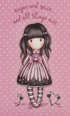 Little Doll, Little Girls, Love Pink Wallpaper, Santoro London, Beautiful Sketches, Holly Hobbie, All Things Cute, Cute Characters, Digi Stamps