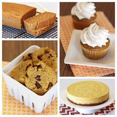 Pumpkin Roundup from Sarah Bakes Gluten Free Treats