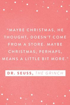 15 Holiday Quotes to Spread Some Serious Christmas Cheer  #purewow #movies #holiday #entertainment #quotes