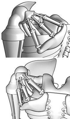robot shoulder joint - Google Search