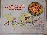 JULES VERNE,LA ASTRONOMIA Y LA LITERATURA: AROUND THE WORLD IN 80 DAYS POSTER