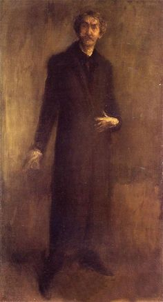 Portrait Drawing Self-Portrait - James Abbott McNeill Whistler Reproduction - Self-Portrait James Abbott Mcneill Whistler, Selfies, Caravaggio, Art Abstrait, Art For Art Sake, American Artists, Art And Architecture, Painting & Drawing, Massachusetts