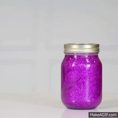 Glitter jars: How to make your own calm down jar or bottle. Instead of using these for calming down though, I'll probably use them for plane/car trips and restaurants. Perhaps adding small bath toys to them would add to the intrigue as well? Glitter Calming Jar, Glitter Jars, Calm Down Jar, Calm Down Bottle, Galaxy Jar, Diy Galaxy, Diy Sensory Toys, Diy Toys, Sensory Tools