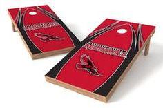 Southeast Missouri State Redhawks Single Cornhole Board - The Edge