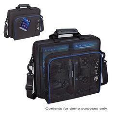 RDS PlayStation 4 PS4 Game System Carry Case Carrying Bag BRAND NEW #RDS