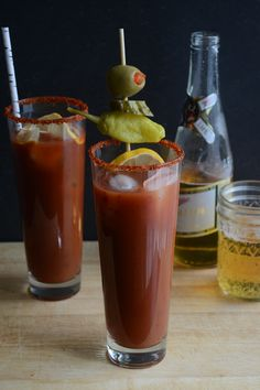 Smoky Chipotle Bloody Mary #brunchweek by Sarcastic Cooking