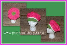 Strawberry Shortcake Beret Hat
