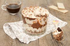 Coppa+mascarpone+e+caffè+con+Nutella+e+wafer