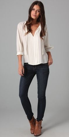 Promod has a blouse like this, but better. And is now only $20 and I want it.