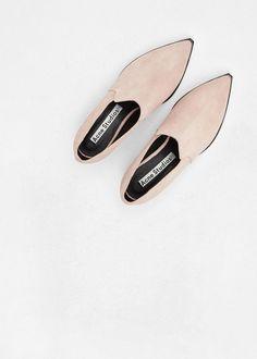 Acne Studios | Jaycee Suede Ankle Boot (Powder Pink) #flatlay #flatlays #flatlayapp www.flat-lay.com