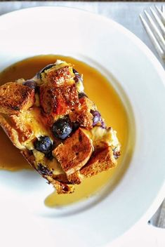 Recipe Redux: Overnight Orange-Blueberry Baked French Toast ( made with Gluten-Free Bread) Make Ahead Breakfast, Healthy Breakfast Recipes, Healthy Baking, Brunch Recipes, Free Breakfast, Breakfast Time, Healthy Food, Brunch Ideas, Healthy Recipes
