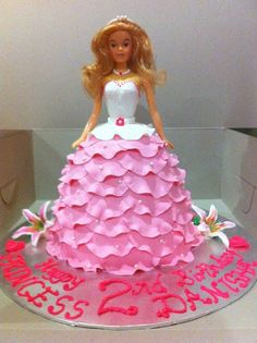 Home May'de Cakes: Princess Doll cake and Rock n Fire electric guitar...