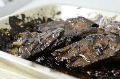 Travers de porc marinés à la cantonaise Recette sur Chocolate & Zucchini en VF