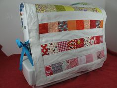sewing machine cover front by mary made me, via Flickr