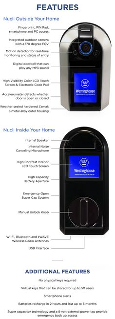 The Nucli smart deadbolt works with your smart devices to become the nucleus of your smart home. | Crowdfunding is a democratic way to support the fundraising needs of your community. Make a contribution today!