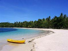 On the Beach - Blue Lagoon Beach, Nanuya Lailai, Yasawa Islands, Fiji