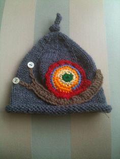 snail hat! adorable!!