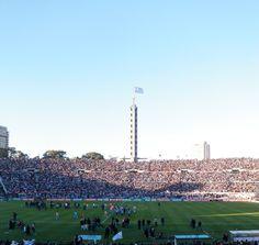 El monumento al fútbol Mundial, el Estadio Centenario, obra del Arq Scasso