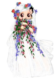 gifs et tubes betty boop - Page 3 Pa Day, Gifs, Gif Photo, Wedding Story, Wedding Bride, Wedding Dresses, Art Pictures, Animated Gif, Disney Characters