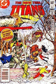 THE NEW TEEN TITANS 19. MARV WOLFMAN, GEORGE PEREZ, DC COMICS