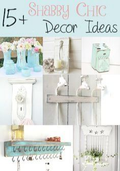 Lately Ive been seeing a lot of distressed furniture and decor pieces and I absolutely love it! After making a distressed soap dispenser I realized that I wanted to make some larger decor using this shabby chic style! I couldnt decide on what to do so I looked at some amazing ideas and diy