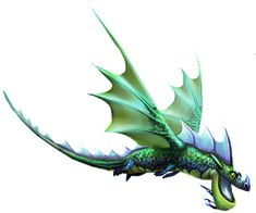 Shockjaw, a dragon that appears in the game Rise of Berk. I think this one is also a Tidal class.