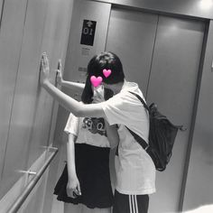 ◌⑅⃝●⋆Black.D⋆●⑅◌ korean couple Photo Couple, Love Couple, Gay Couple, Cute Korean, Korean Girl, Asian Girl, Ulzzang Couple, Ulzzang Girl, Couple Aesthetic