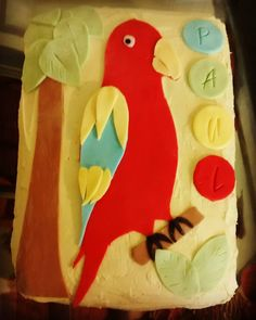 #parrot #cake #60th #birthday #party #baking #cakes by joeyace1990 http://www.australiaunwrapped.com/