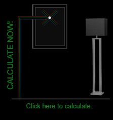 Look what I found       Calculate the height for your wall art