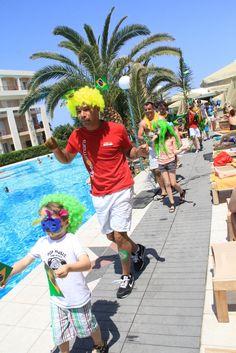 Journée Brésil au #ClubMarmara #RethymnoPalace #Crete #vacances #voyage