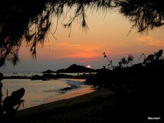 Om Beach Sunset Time