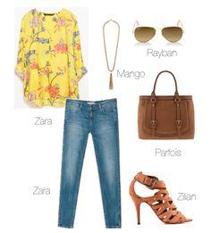 Fashion Tip – Blusa amarela às flores Zara | PRONTA E VESTIDA