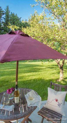 How To Paint An Outdoor Umbrella Ella Ella Eh Eh