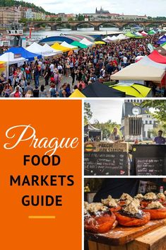 Prague food and farmers markets abound! There are loads of farmers markets and food markets in Prague where you can get a glimpse of the local food scene. Here is our guide to getting your foodie fix at Prague's markets! Travel Articles, Travel Info, Travel Plan, Budget Travel, Travel Tips, European Travel, Travel Europe, Shopping Travel, Fotografia