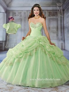 Mary's Bridal Princess Collection Quinceanera Dress Style 4Q936