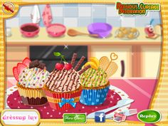 Cupcakes are great, everybody loves them! They also look funny, because of their small size. There are so many cupcakes recipes, that you often can\'t decide which one to make. But today we will learn how to make yummy fruity cupcakes. This recipe is perfect for the summer time when is hot outside, because fruits have a very refreshing flavor. So, you need some colorful fruits, flour, backing soda, salt, milk and eggs.