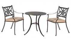 Buckingham 2 Seat Bistro Set (1 Table, 2 Chairs U0026 Cushions) #furniture