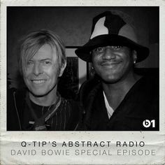 @Regrann from @applemusic -  A tribute to the Starman. All things David Bowie with Q-Tip on #AbstractRadio. ( link to listen in bio ) #Beats1 #Regrann
