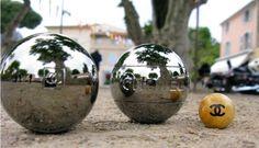 Chanel Petanque balls