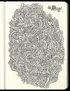 40 Stunning Doodles for Inspiration | Vandelay Design Blog